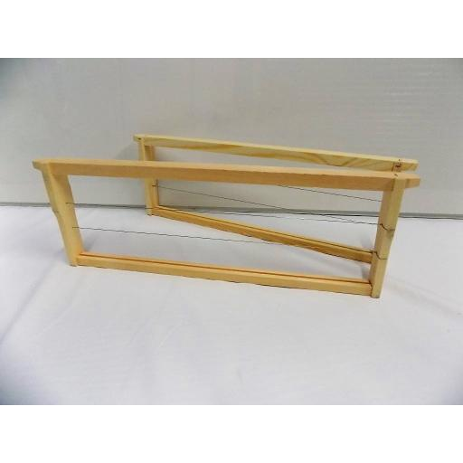 Langstroth medium wooden frames ASSEMBLED