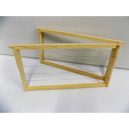 Langstroth full depth wood frames ASSEMBLED