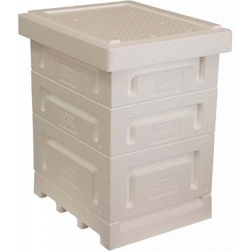 honey paw Langstroth Polystyrene Hive With Two Supers