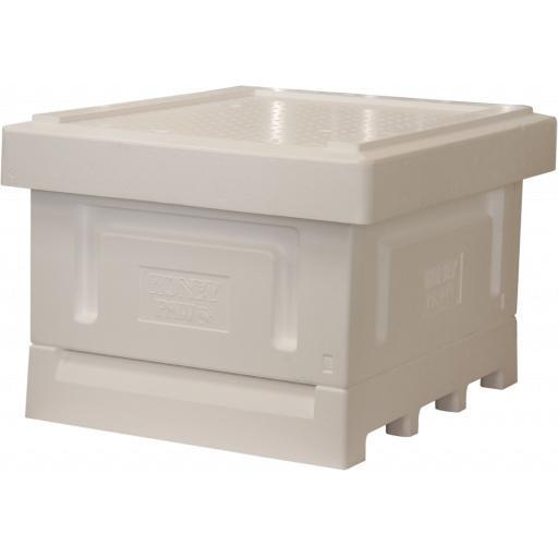 Langstroth Polystyrene Hive With Single Deep