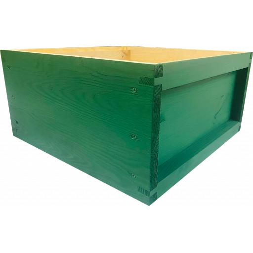 Pine british National Brood Box