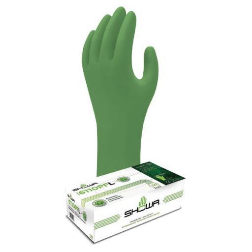 Nitrile gloves - Powder Free Biodegradable 50 pairs